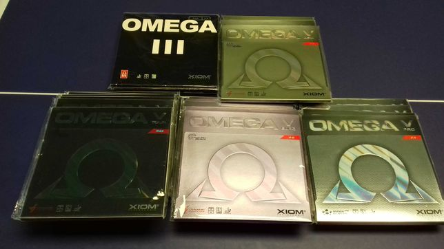 Fete noi Xiom Vega, Omega III, IV si V si Sigma, lemne tenis masa