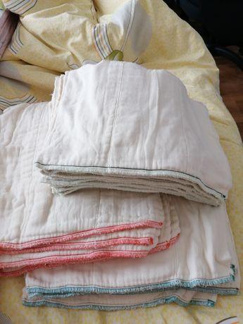 Prefold scutece textile