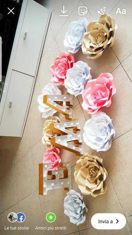 Цветя от картон рози хартия
