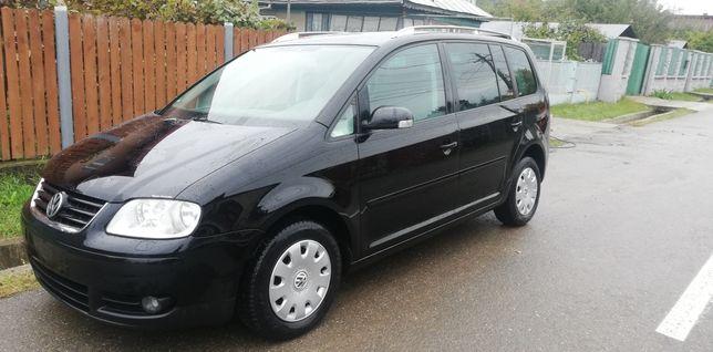 VW Touran 2005 EURO 4 climatronic  Germania 1,9TDI 105CP si 5 locuri