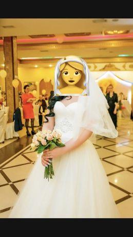 Свадебное платье 48-50 размера