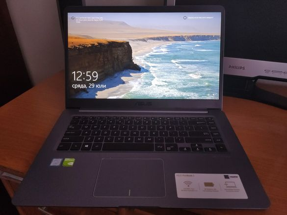 Лаптоп Asus vivobook S I7-8550u