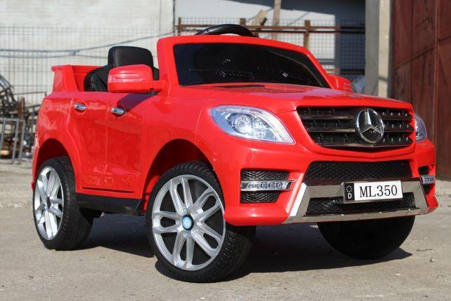 Masinuta electrica pentru copii Mercedes ML350 2x25W 12V #Rosu