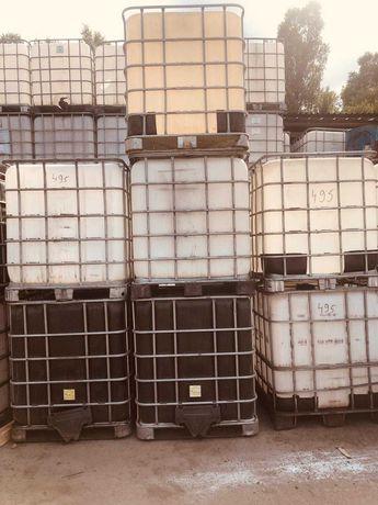 Продаются пластиковые канистры 1000 литров для емкости