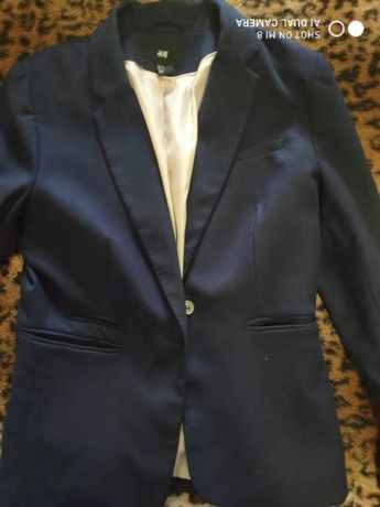 Пиджак женский темно синего цвета
