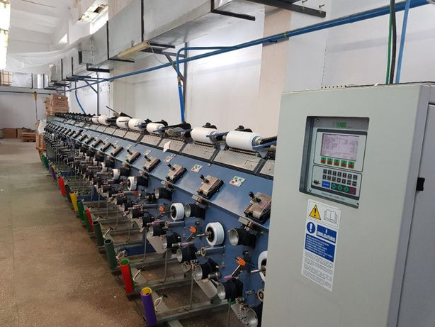 Utilaje textile / compresor cu surub / rezervor aer / tubulatura