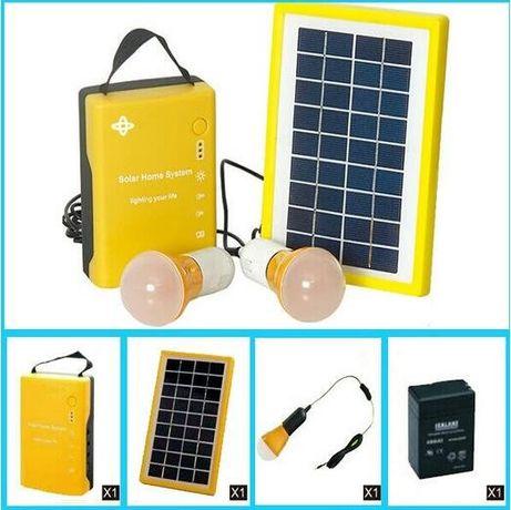 Автономная система освещения Solar Home System Kit 4500 mAh (со