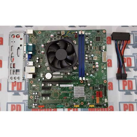 PLACA DE BAZA 1150 DDR3 Q85 + Procesor I5 4430 + Cooler Garantie