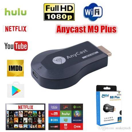 Anycast M9 plus беспроводной HDMI-WiFi адаптер MiraScreen/Miracast