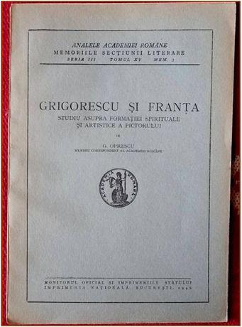 GRIGORESCU si FRANTA - Studiu ... - 1946