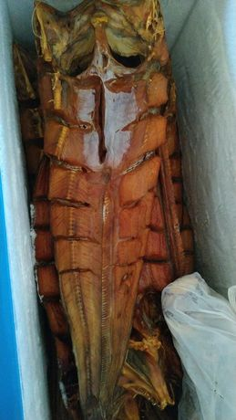 Копчёная рыба жерех, сом, змейголов