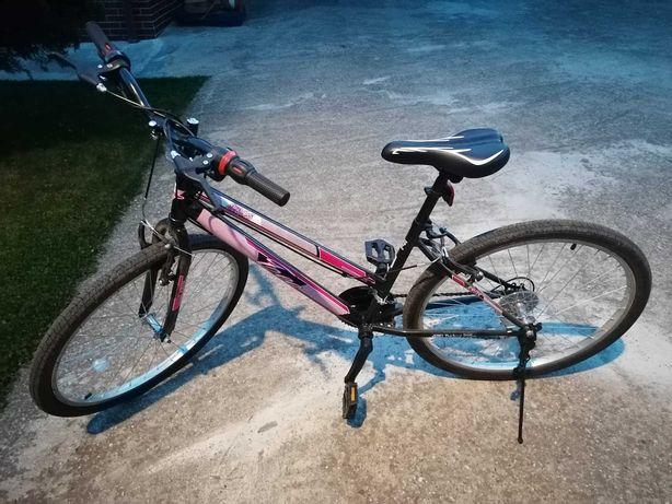 "Bicicleta MTB, Dame TEC Eros, Negru/Roz, Roata 26"", Otel - NOUA"