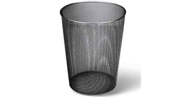 Мусорный корзина для бумаг и мусора офисная (бак)