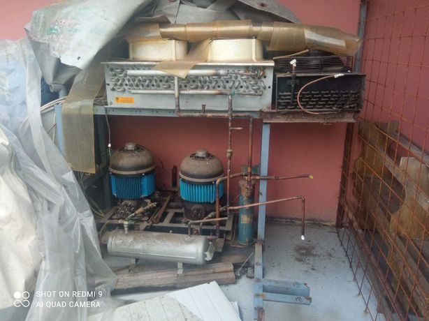 Vand instalatii vaporizator tunel congelate