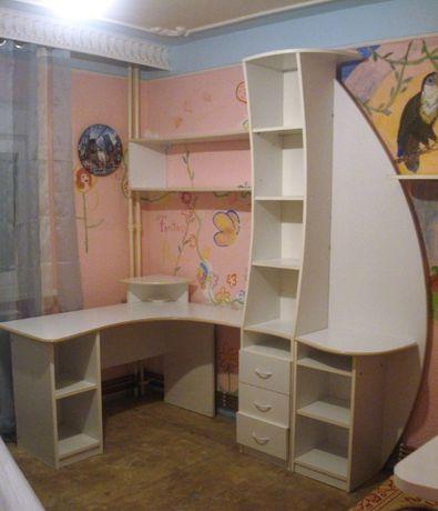 Mobilier copii/tineret birou, biblioteca, dulap, rafturi