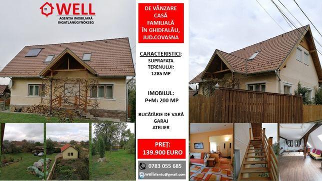 De vânzare casă familială în Ghidfalău, jud.Covasna