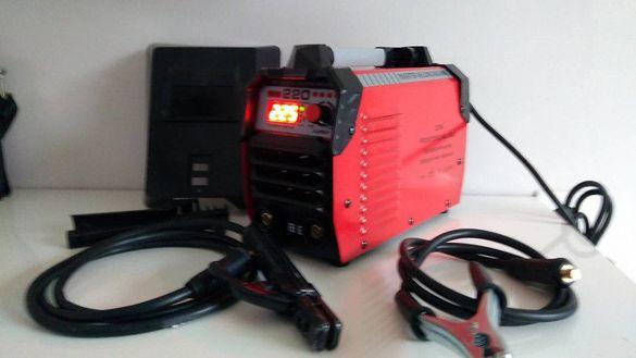 PROFESSIONAL - Инверторен електрожен 220 Ампера - Електрожени