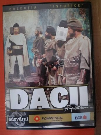 Carcasa DVD Dacii - Colectia istorice Adevarul