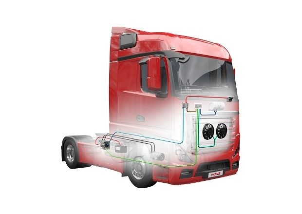 Aer condiționat camion- auto Sleeping Well Smart In