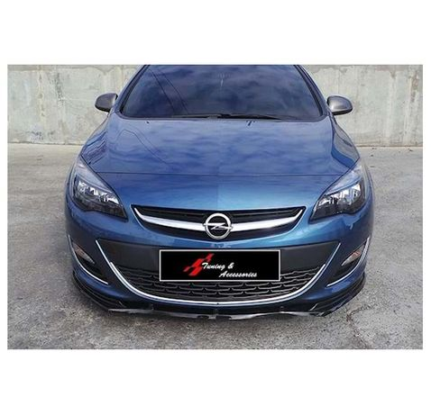 Opel Astra J Lip 2009-2015 / Лип Спойлер за Опел Астра Ж