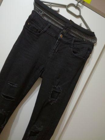 Нови дънки Zara с мрежа