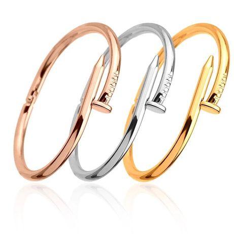 Bratara cui stil Cartier Luxury aurie argintie rose gold Pandora