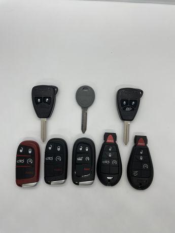 Корпус ключа на Jeep