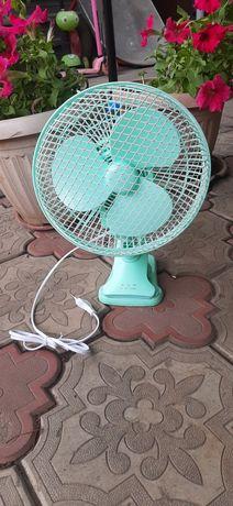 Вентилятор настольный. (Новый) Бесплатная доставка