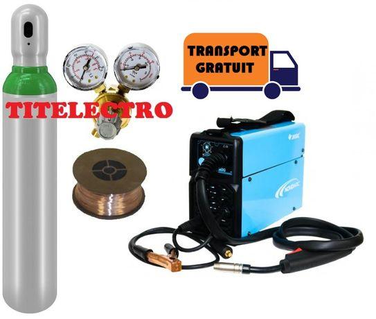 Aparat sudura cu fir NOVO MIG 130 +butelie Argon/CO2 +reductor+sarma