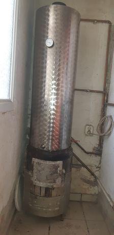 Boiler  inox cu serpentina
