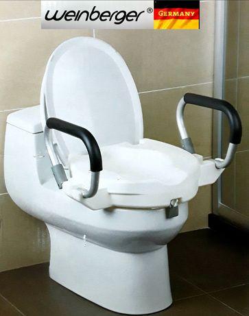 ÎNĂLȚĂTOR pentru toaleta cu capac si cotiere WEINBERGER (Germania)