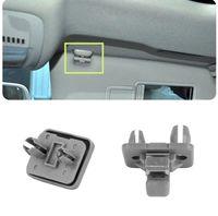 Clips / clema / suport parasolar Audi cod: 80E857562 culoare gri