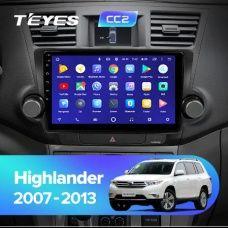 Штатная магнитола TEYES CC3 на Toyota Highlander