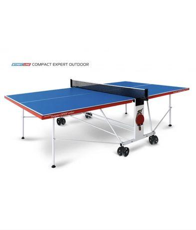 Всепогодный Теннисный стол Compact Expert Outdoor с сеткой(топ продаж)
