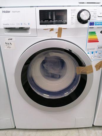 Mașina de spălat Haier 8kg A+++ 1400rpm motor Inverter produs Nou