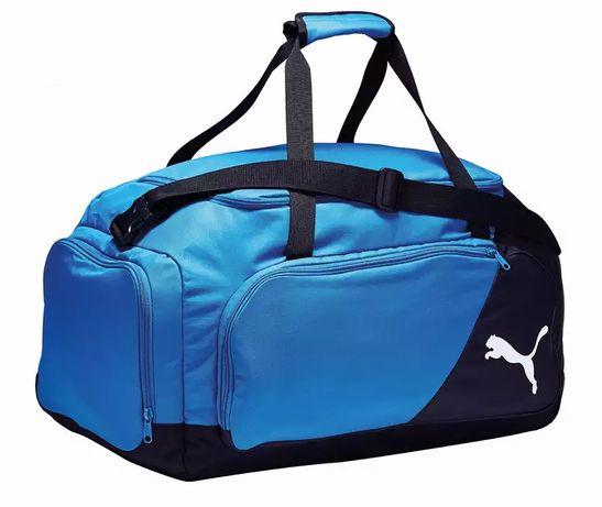 geanta Puma Liga Medium,Negru/Albastru,55 litri->NOU,SIGILAT,eticheta