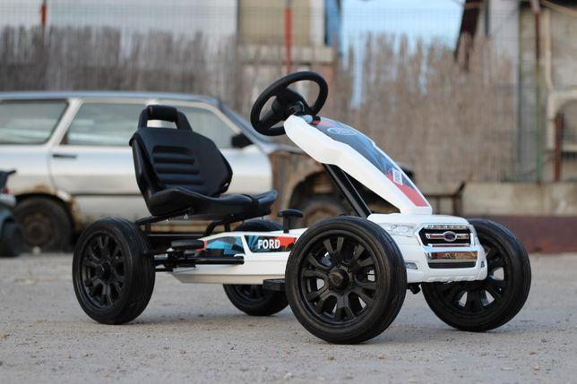 Masinuta-Kart cu pedale de la FORD recomandat pentru copil 3-11 ani