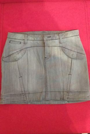 Mango jeans дънкова пола
