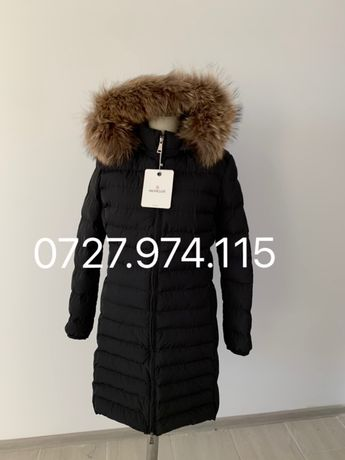 Geaca Moncler Original made in Romania dama lunga
