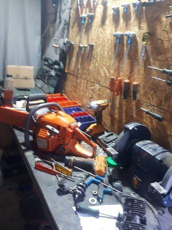 Reparații și întreținere drujbe, motosapă, generator, motocoasă etc.