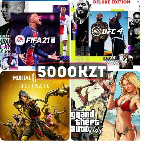 FIFA21/UFC4/Продажа игр на пс4,пс5 / Установка игр на PS4,PS5/Прошивка