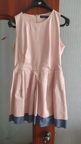 Платье Christian Dior. Качество отличное. Плотный хб.
