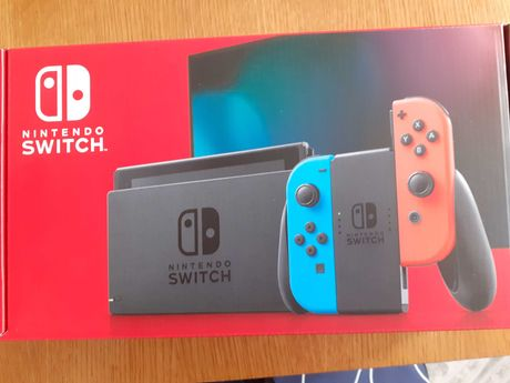 consola nintendo switch red&blue ,nou,sigilat