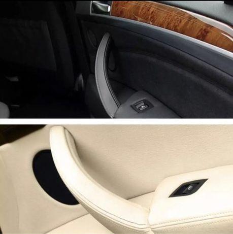 Maner interior fata usa dreapta crem bej maro negru Bmw X5 E70 X6 E71