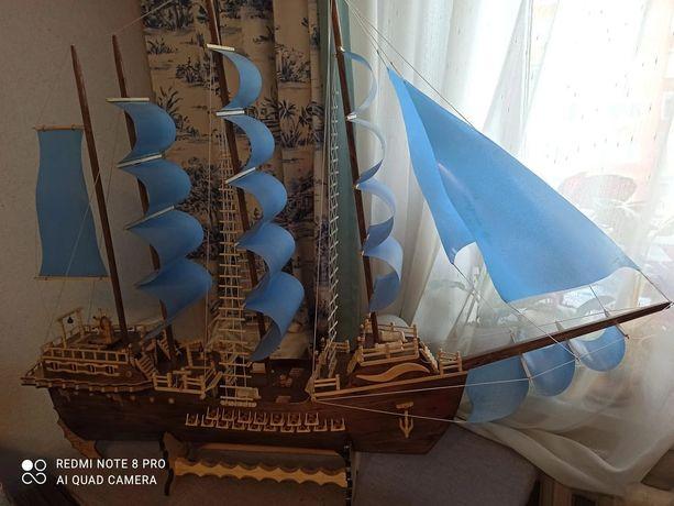 Подарок другу, корабль ручной работы, новый.