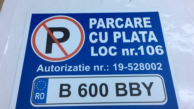 Plăci loc parcare