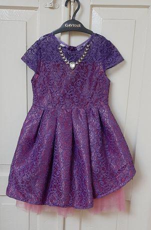Нарядная одежда на девочку (платье)