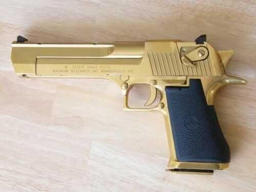 Pistol Airsoft Baby Desert Eagle Ed.Lim GOLD # Metal# 4,4j