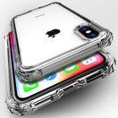 Прозрачен Силиконов Кейс за Iphone 7 / 8 / X / XS Max Противоударен