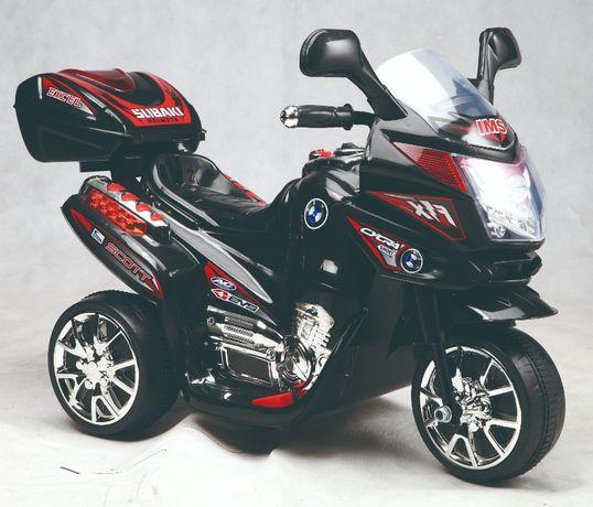 Mini Motocicleta electrica C051 35W cu 3 roti STANDARD #Negru